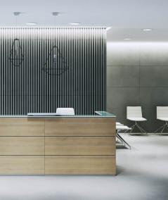 VT - PB39 (S50 jasno szary - mysi) LAMEL - Panel dekor 3D beton architektoniczny