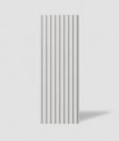 VT - PB39 (B0 biały) LAMEL - Panel dekor 3D beton architektoniczny