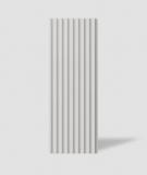 VT - PB39 (B1 siwo biały) LAMEL - Panel dekor 3D beton architektoniczny