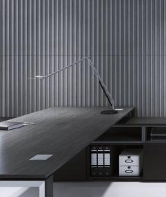VT - PB39 (BS snow white) LAMEL - 3D architectural concrete panel