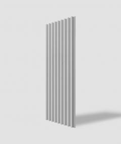 VT - PB39 (S95 light gray - dove) LAMEL - 3D architectural concrete panel