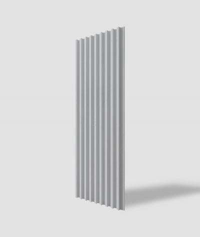 VT - PB39 (S96 ciemny szary) LAMEL - Panel dekor 3D beton architektoniczny