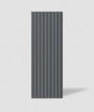VT - PB39 (B8 antracyt) LAMEL - Panel dekor 3D beton architektoniczny
