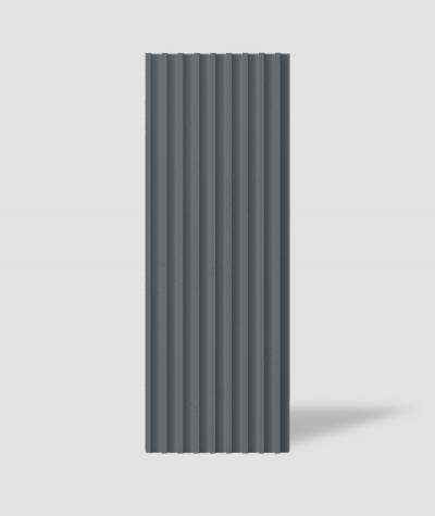VT - PB39 (B8 anthracite) LAMEL - 3D architectural concrete panel