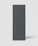 VT - PB39 (B15 czarny) LAMEL - Panel dekor 3D beton architektoniczny