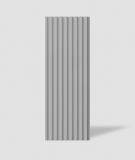 VT - PB39 (S51 ciemno szary - mysi) LAMEL - Panel dekor 3D beton architektoniczny