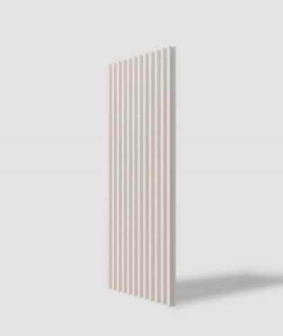 VT - PB38 (KS ivory) LAMEL - 3D architectural concrete panel