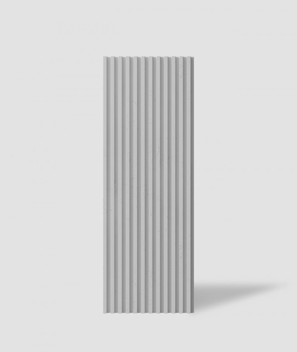 VT - PB38 (S95 jasno szary - gołąbkowy) LAMEL - Panel dekor 3D beton architektoniczny
