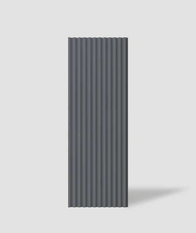 VT - PB38 (B8 anthracite) LAMEL - 3D architectural concrete panel
