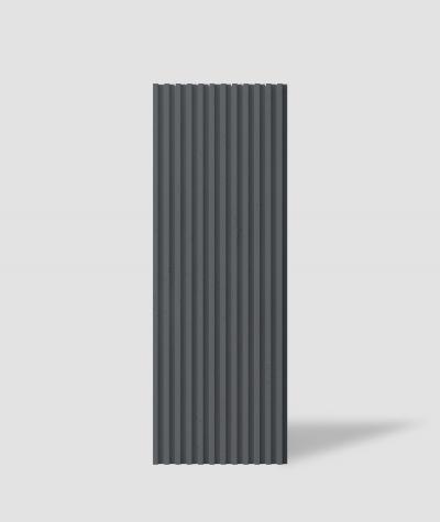 VT - PB38 (B15 czarny) LAMEL - Panel dekor 3D beton architektoniczny
