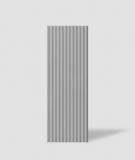 VT - PB38 (S51 ciemno szary - mysi) LAMEL - Panel dekor 3D beton architektoniczny