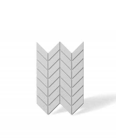 VT - PB46 (B0 white) HERRINGBONE - 3D decorative panel architectural concrete