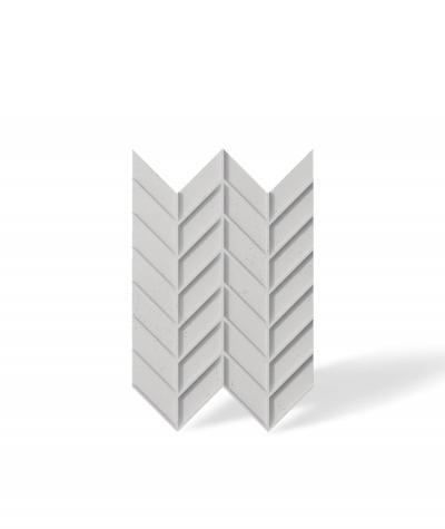 VT - PB47 (B1 siwo biały) JODEŁKA - Panel dekor 3D beton architektoniczny