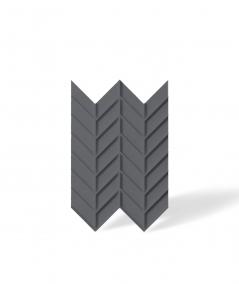 VT - PB47 (B8 anthracite) HERRINGBONE - 3D decorative panel architectural concrete