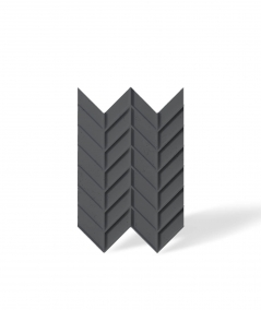VT - PB47 (B15 czarny) JODEŁKA - Panel dekor 3D beton architektoniczny