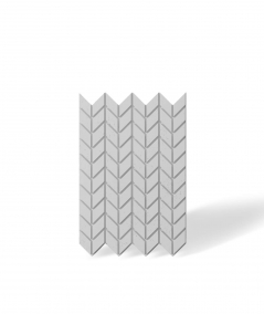 VT - PB48 (S50 light gray - mouse) HERRINGBONE - 3D decorative panel architectural concrete