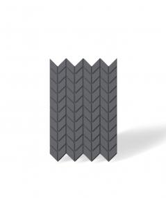 VT - PB48 (B8 anthracite) HERRINGBONE - 3D decorative panel architectural concrete