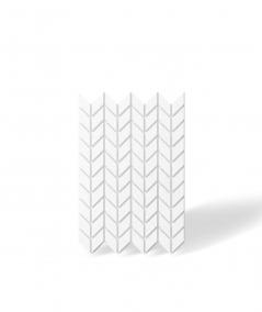 VT - PB48 (BS śnieżno biały) JODEŁKA - Panel dekor 3D beton architektoniczny