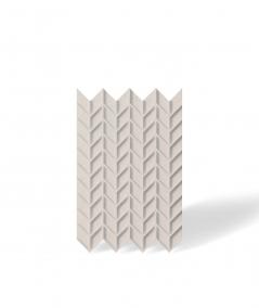 VT - PB49 (KS ivory) HERRINGBONE - 3D decorative panel architectural concrete