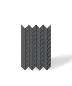 VT - PB49 (B15 czarny) JODEŁKA - Panel dekor 3D beton architektoniczny