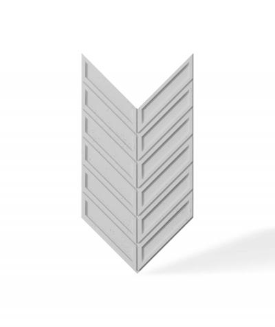 VT - PB50 (S50 jasno szary - mysi) JODEŁKA - Panel dekor 3D beton architektoniczny