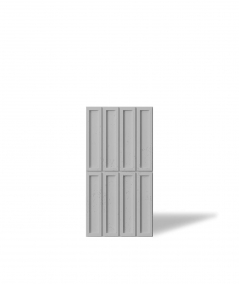 VT - PB51 (S95 jasno szary - gołąbkowy) CEGIEŁKA - Panel dekor 3D beton architektoniczny