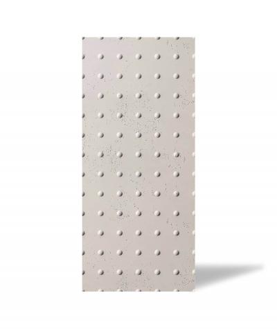 VT - PB55 (KS kość słoniowa) KROPKI - Panel dekor 3D beton architektoniczny