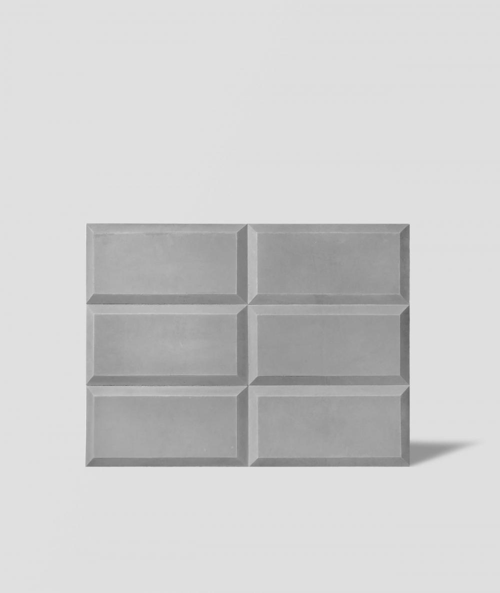 DS choco 3D (grey) - architectural concrete