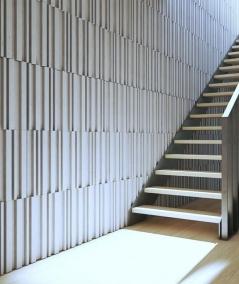 VT - PB42 (C4 brick) LAMEL - 3D decorative panel architectural concrete