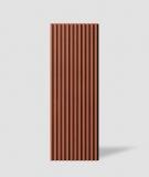 VT - PB38 (C4 ceglasty) LAMEL - Panel dekor 3D beton architektoniczny