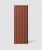 VT - PB39 (C4 ceglasty) LAMEL - Panel dekor 3D beton architektoniczny