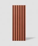 VT - PB40 (C4 ceglasty) LAMEL - Panel dekor 3D beton architektoniczny