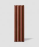 VT - PB41 (C4 ceglasty) LAMEL - Panel dekor 3D beton architektoniczny