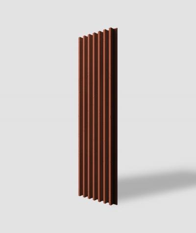 VT - PB41 (C4 brick) LAMEL - 3D architectural concrete panel
