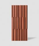 VT - PB42 (C4 ceglasty) LAMEL - Panel dekor 3D beton architektoniczny