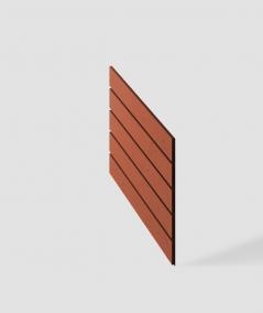 VT - PB43 (C4 brick) HERRINGBONE - 3D decorative panel architectural concrete
