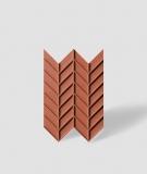 VT - PB47 (C4 ceglasty) JODEŁKA - Panel dekor 3D beton architektoniczny
