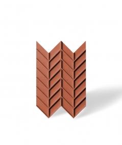 VT - PB47 (C4 brick) HERRINGBONE - 3D decorative panel architectural concrete