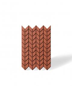 VT - PB48 (C4 brick) HERRINGBONE - 3D decorative panel architectural concrete