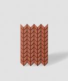 VT - PB48 (C4 ceglasty) JODEŁKA - Panel dekor 3D beton architektoniczny