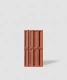 VT - PB51 (C4 ceglasty) CEGIEŁKA - Panel dekor 3D beton architektoniczny