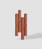 VT - PB52 (C4 ceglasty) CEGIEŁKA - Panel dekor 3D beton architektoniczny