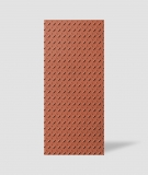 VT - PB53 (C4 ceglasty) BLACHA - Panel dekor 3D beton architektoniczny
