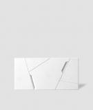 VT - PB18 (BS śnieżno biały) SPACE - panel dekor 3D beton architektoniczny