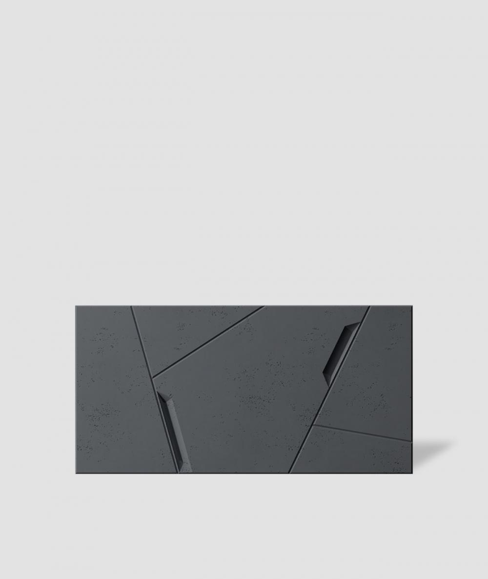 VT - PB18 (B15 black) SPACE - 3D architectural concrete decor panel