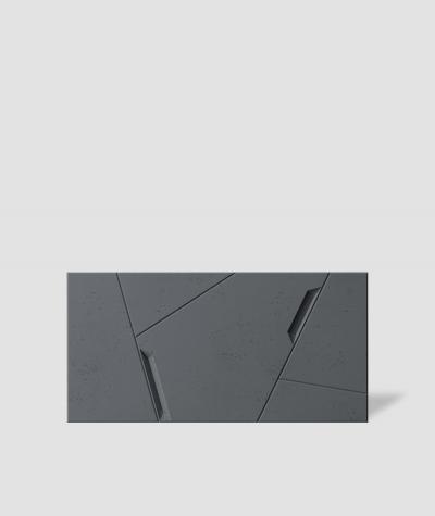 VT - PB18 (B8 anthracite) SPACE - 3D architectural concrete decor panel