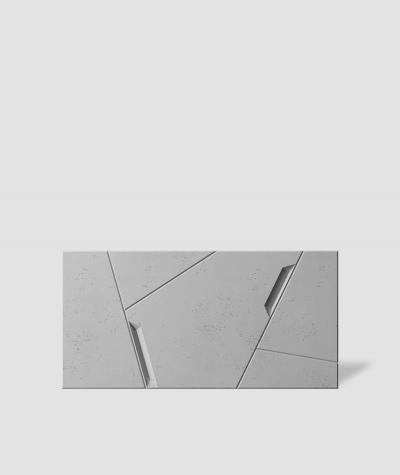 VT - PB18 (S95 jasny szary - gołąbkowy) SPACE - panel dekor 3D beton architektoniczny
