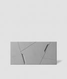 VT - PB18 (S51 ciemny szary - mysi) SPACE - panel dekor 3D beton architektoniczny