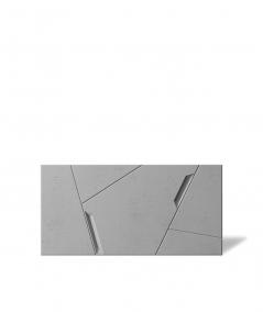 VT - PB18 (S51 dark gray - mouse) SPACE - 3D architectural concrete decor panel