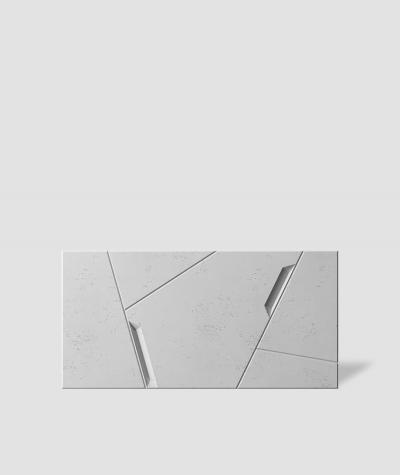 VT - PB18 (S50 light gray - mouse) SPACE - 3D architectural concrete decor panel